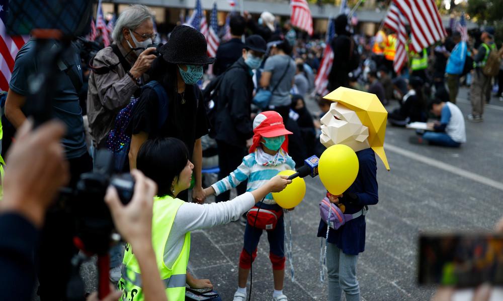 Wirtschaftsexperte: US-Aggression gegen China verantwortlich für Geschehnisse in Hongkong
