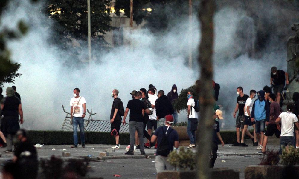 """Regierung in Belgrad schlägt Alarm: """"Es gibt Versuche, einen Bürgerkrieg in Serbien zu beginnen"""""""