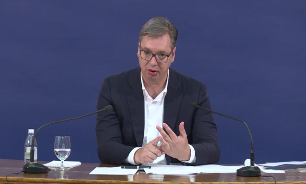 Serbischer Präsident Vučić zu Unruhen am Parlament: Das waren Rechtsextremisten und Pro-Faschisten