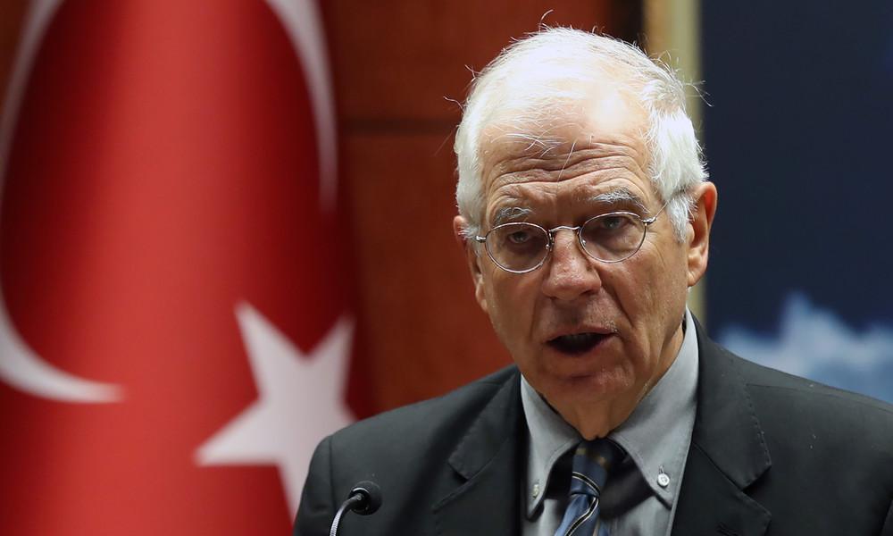 EU-Chefdiplomat gegen Türkei-Sanktionen: NATO-Mitglieder besser nicht sanktionieren