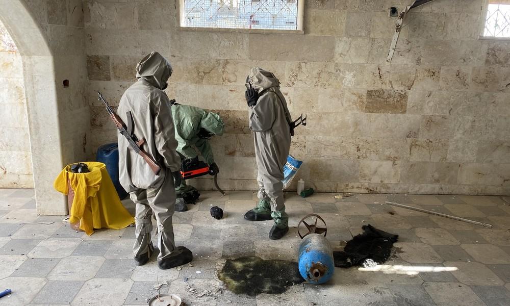 Russland: Terrormilizen in Syrien bereiten erneut Anschläge mit chemischen Waffen vor