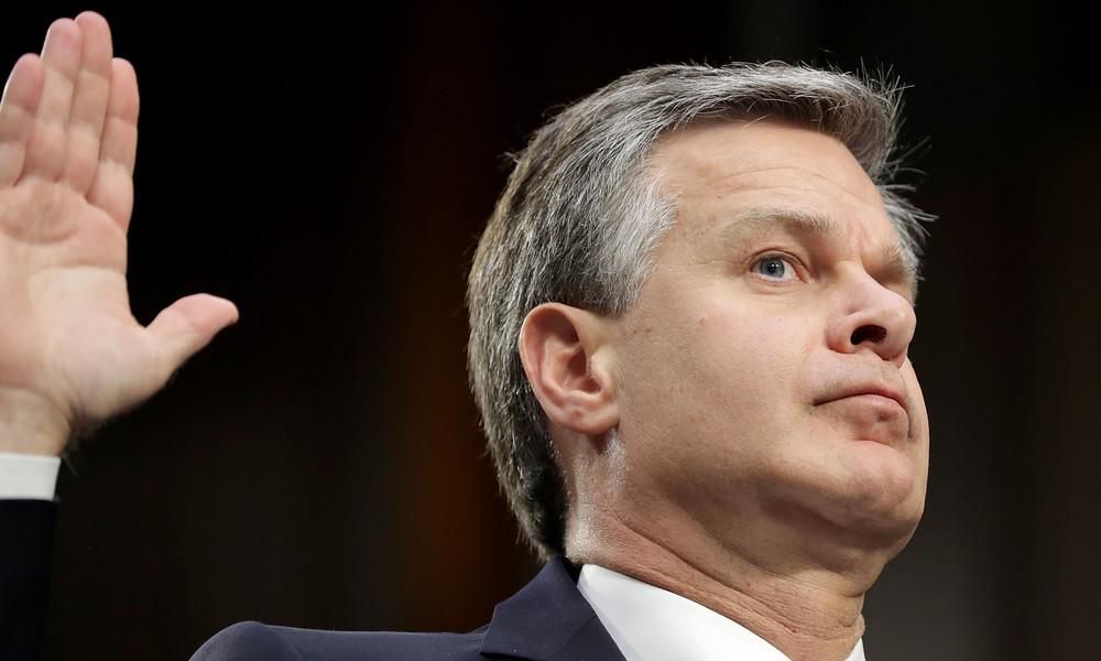 """""""Wollen einzige Weltmacht werden"""": FBI-Direktor bastelt weiter am US-Feindbild China"""