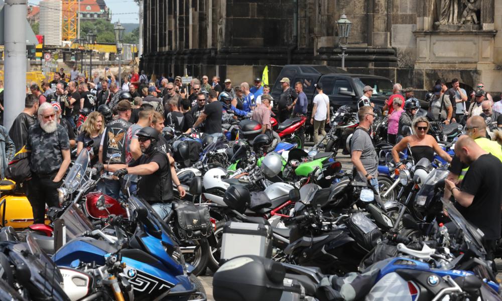 Wütend über geplante Fahrverbote: Biker kündigen neue Proteste an