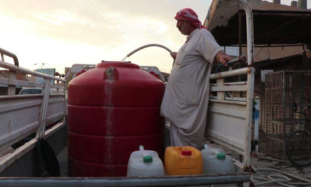 Syrien: Türkisch-gestützte Kräfte sollen Hunderttausenden Menschen das Wasser abgedreht haben