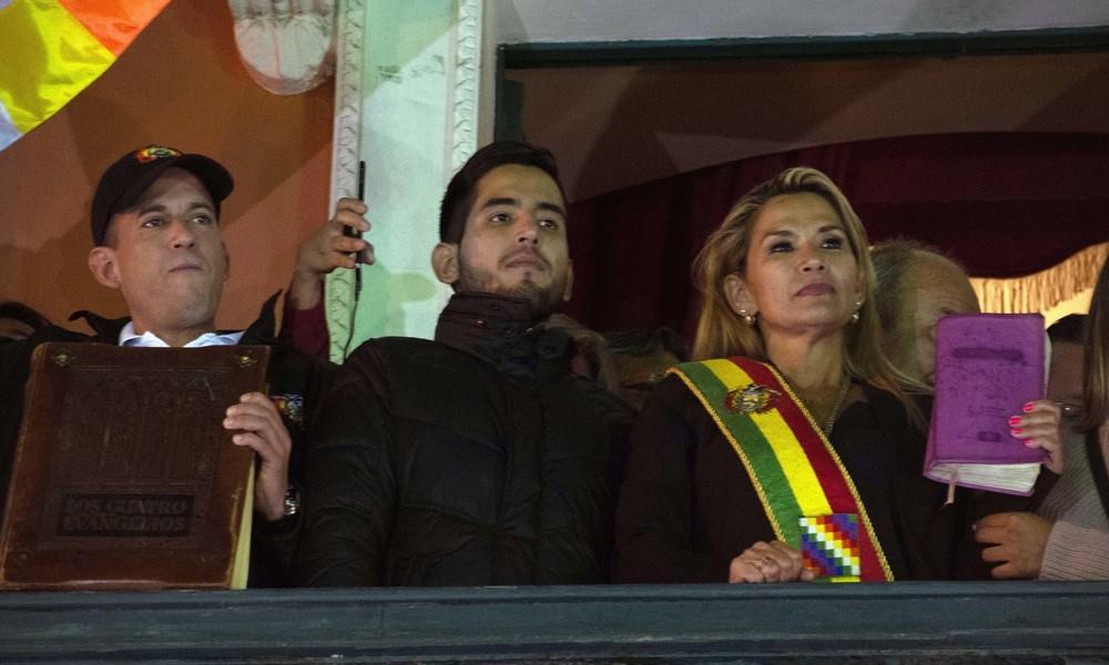 "Boliviens selbsternannte ""Interimspräsidentin"" Jeanine Áñez positiv auf Coronavirus getestet"