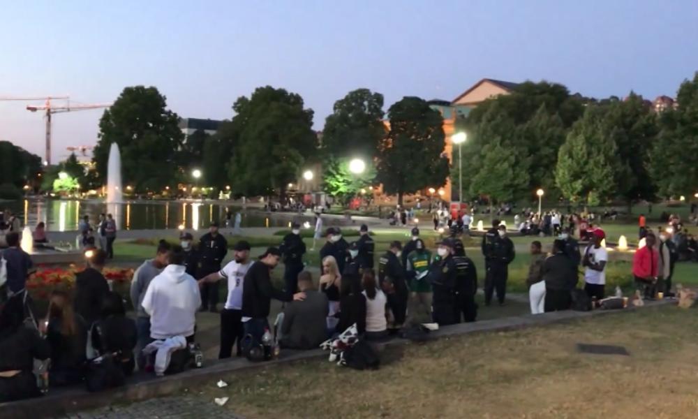 Stuttgart: Zusammenstöße und Festnahmen – Polizei mit stärkerer Präsenz in Innenstadt