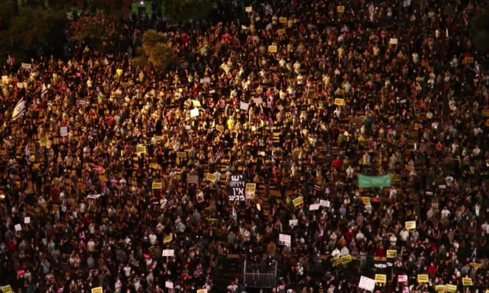 Israel: Tausende protestieren gegen Management in der Corona-Krise und fordern Soforthilfen