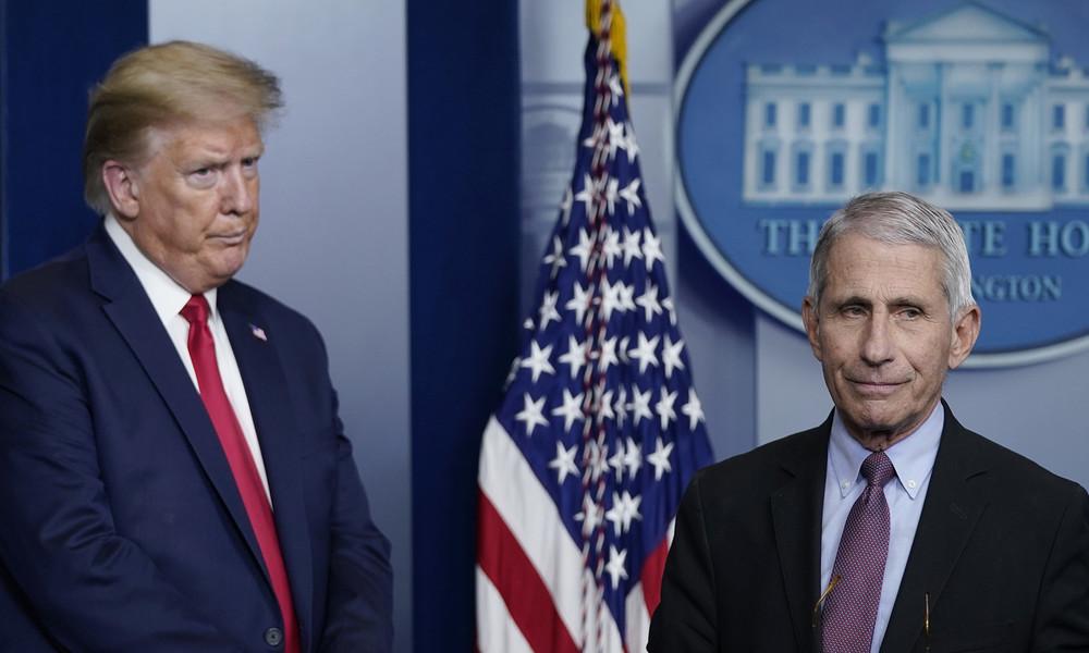 Trump übt Kritik an US-Gesundheitsexperten und Seuchenzentren
