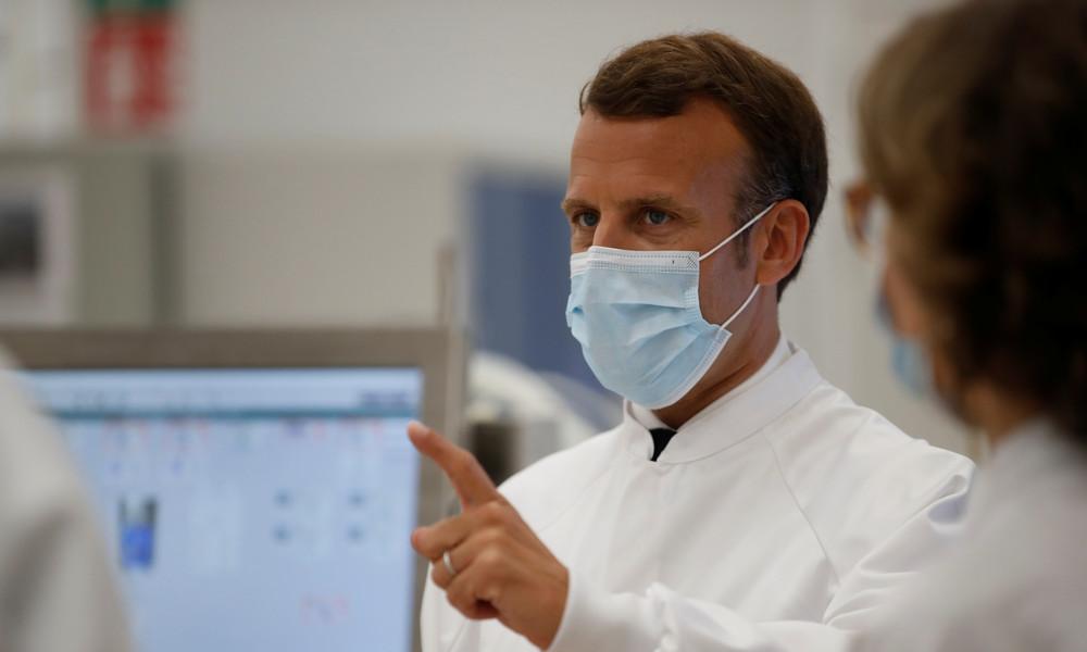 Frankreich: Präsident Macron beharrt auf landesweiter Maskenpflicht ab 1. August