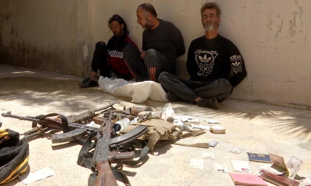 Milizkämpfer aus Tanf in Syrien gestehen nach Festnahme Spionage, bestätigen Kontakt zum US-Militär