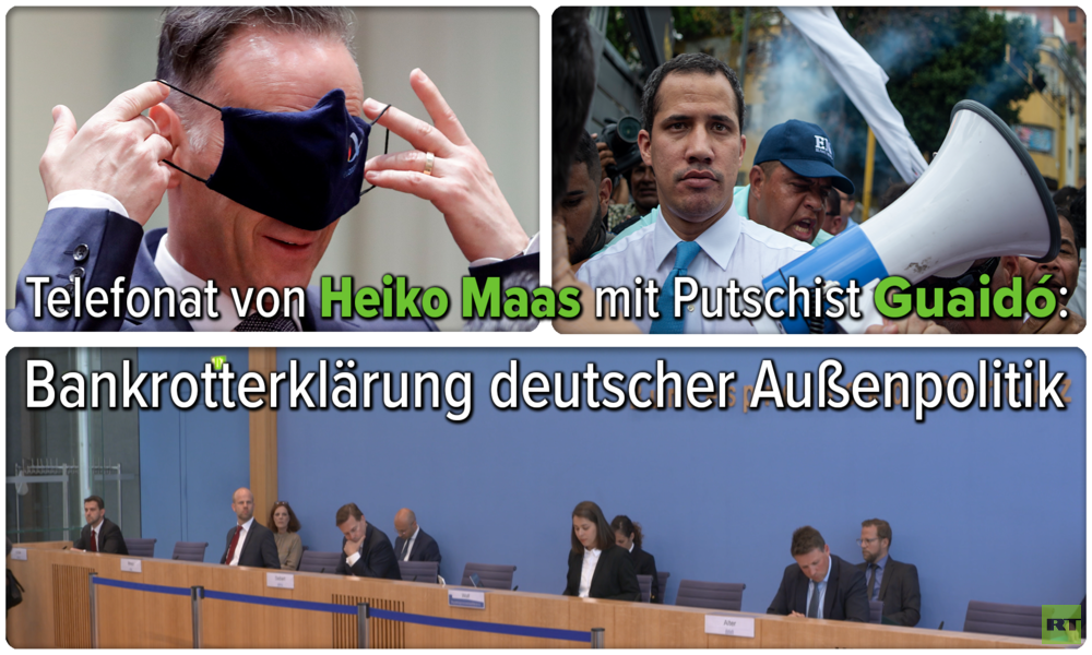 Telefonat von Heiko Maas mit Putschist Guaidó: Bankrotterklärung deutscher Außenpolitik