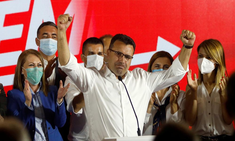 Nordmazedonien: Sozialdemokraten erklären Sieg bei Parlamentswahl