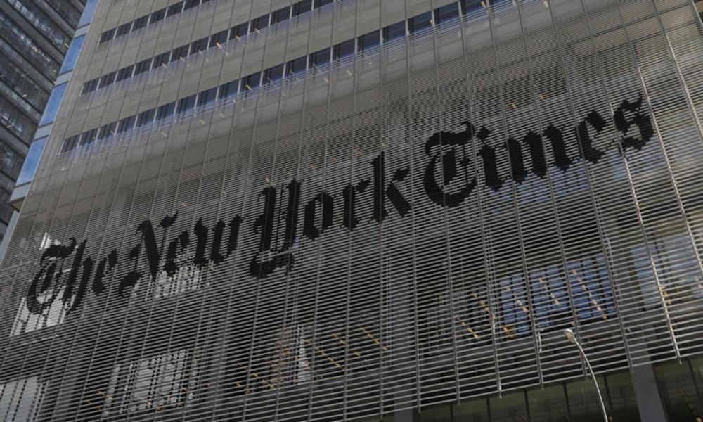 Misst die New York Times mit zweierlei Maß und dient der erwachten Masse?