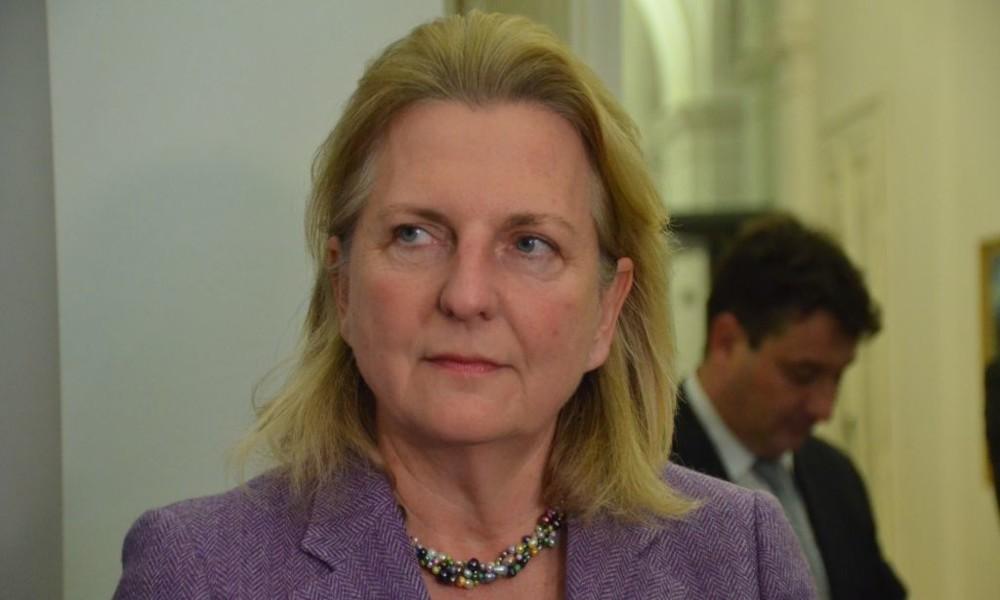 """Österreichische Ex-Außenministerin Kneissl: """"Schon bei banalen Dingen keine gemeinsame Linie der EU"""""""