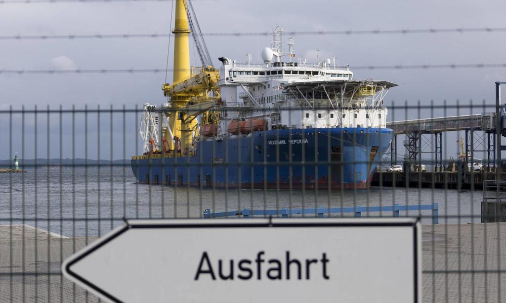 """""""Erpressungsversuch"""": Ost-Ausschuss der Deutschen Wirtschaft zu US-Sanktionen gegen Nord Stream 2"""