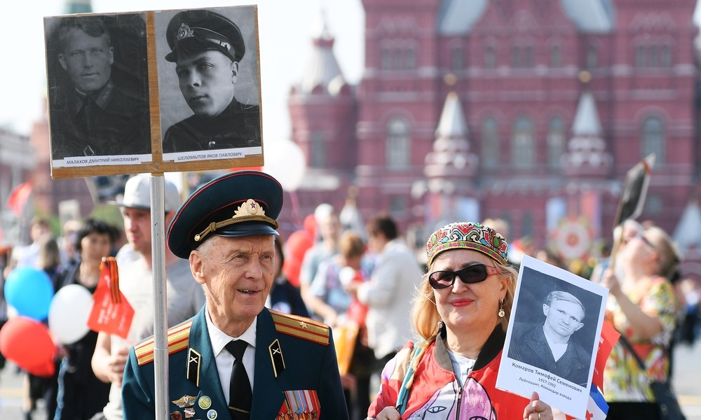 "Russland: ""Unsterbliches Regiment"" wegen Corona erneut verschoben"
