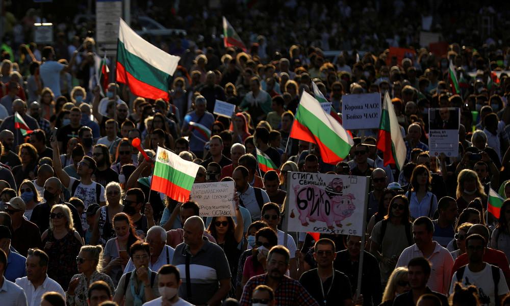 Live aus Bulgarien: Tausende demonstrieren in Sofia gegen Regierung