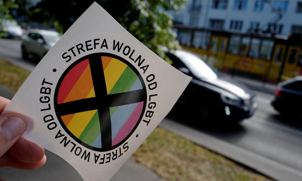 """Regenbogen gegen """"schwulenfreie Zone"""": Niederländische Stadt kündigt Polen Freundschaft"""