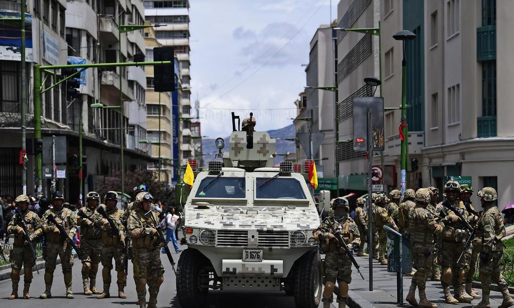 """""""Es war ein Putsch"""" – Argentinien erkennt Boliviens Regierung nicht an"""