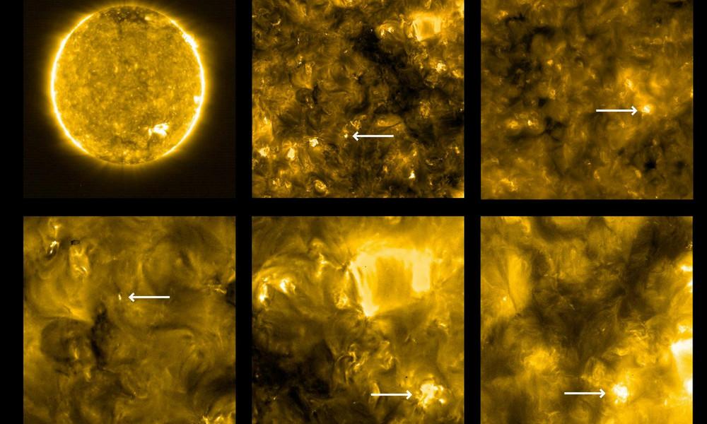Erste Aufnahmen der Sonne, die bislang noch keiner gesehen hat