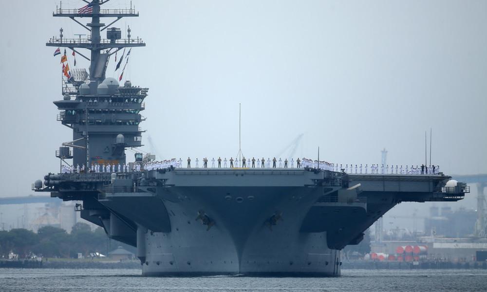 Das zweite Mal in zwei Wochen: USA schicken erneut Flugzeugträger ins Südchinesische Meer