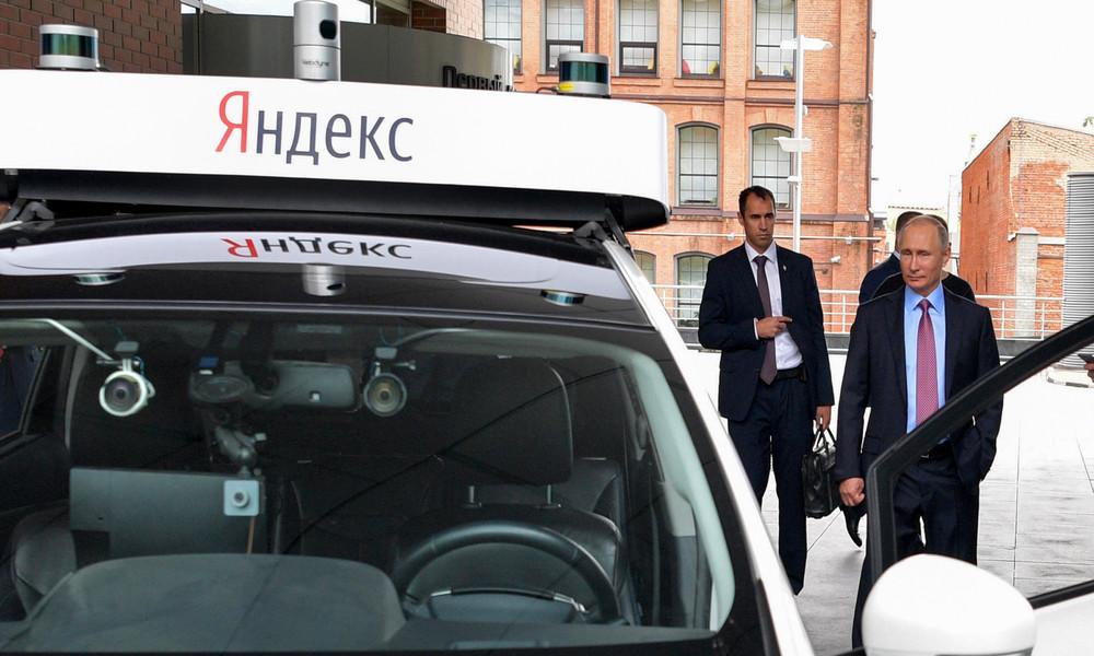 Erste selbstfahrende Taxis auf den Straßen Moskaus für 2024 erwartet