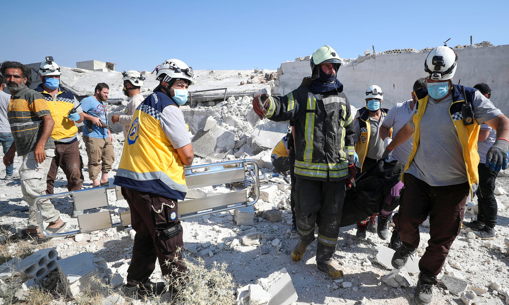 Medienbericht: Mitbegründer der Weißhelme soll Hilfsgelder für Syrien veruntreut haben