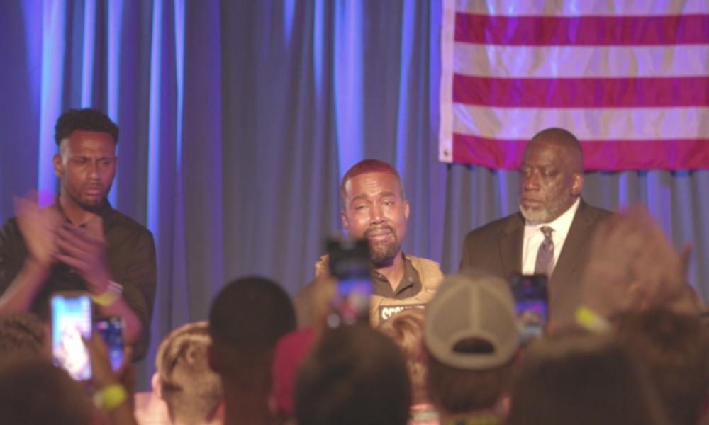 """Kanye West beginnt Wahlkampf unter Tränen: """"Hätte beinahe meine Tochter getötet"""""""