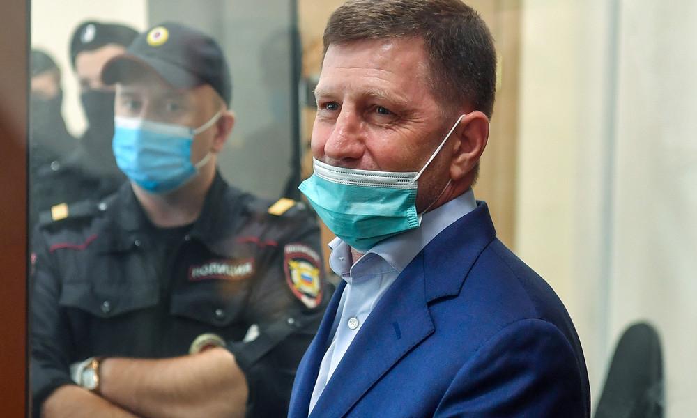 Chabarowsk: Wladimir Putin setzt verhafteten Gouverneur Sergei Furgal ab