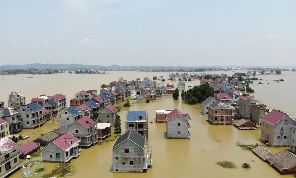 China: Behörden sprengen Staudamm in östlicher Provinz wegen Hochwassers
