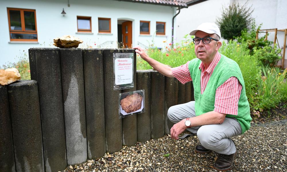 Sensationsfund: Deutschlands größter Steinmeteorit lag jahrzehntelang im Garten
