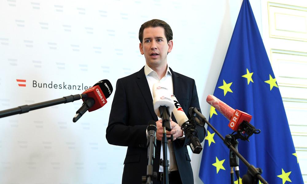LIVE: Österreichs Regierung gibt Pressekonferenz zur Wiedereinführung der Maskenpflicht