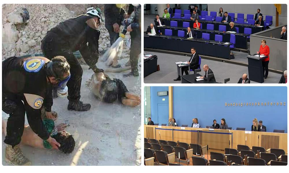"""Betrugsskandal bei den """"Weißhelmen"""" – Wieso hat Bundesregierung nicht den Bundestag informiert?"""