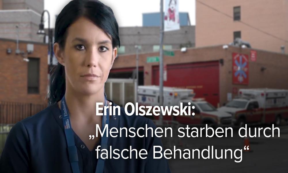 "Krankenschwester aus New York enthüllt: ""COVID-Patienten hätten nicht sterben müssen"" (Video)"