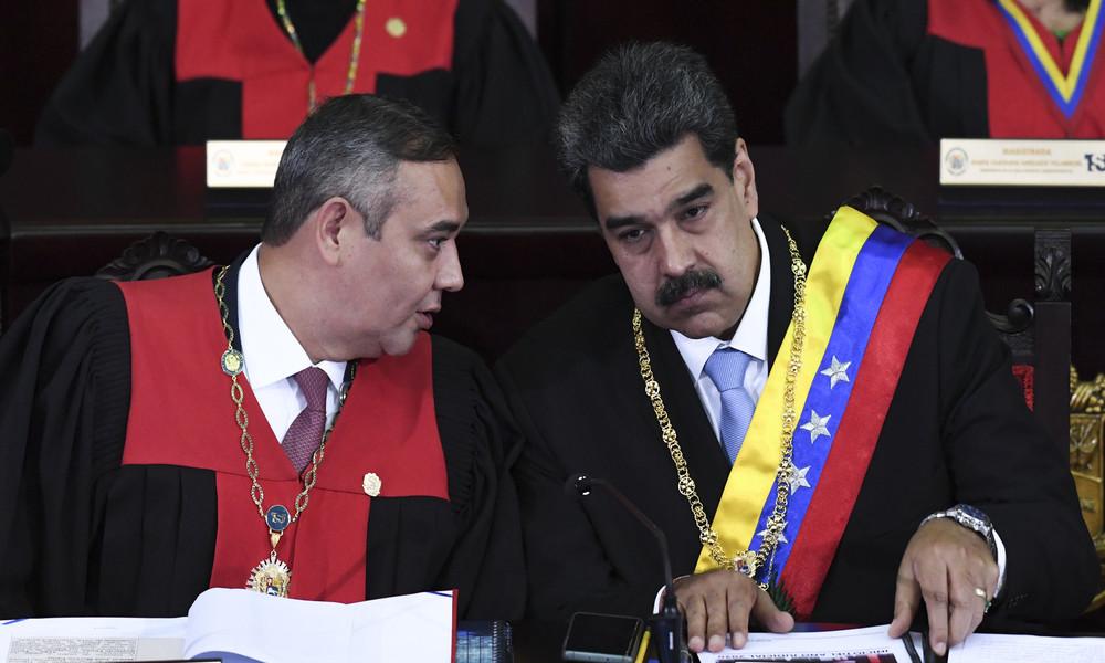USA setzen Kopfgeld auf Vorsitzenden des venezolanischen Obersten Gerichts aus