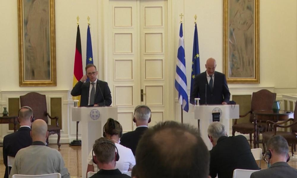 Bei Maas-Besuch in Athen: Griechische Regierung droht Türkei mit EU-Sanktionen