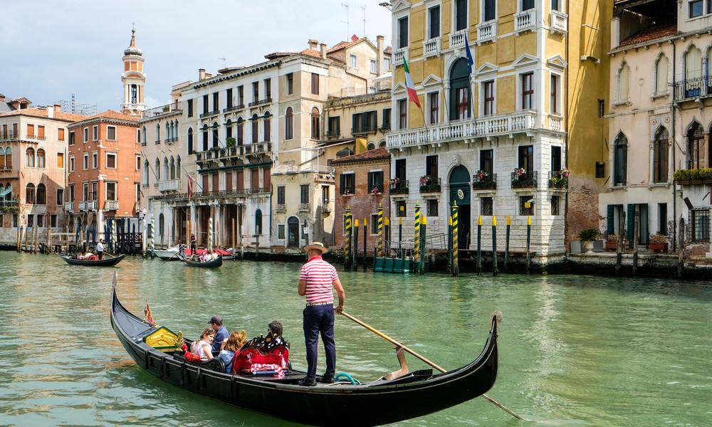 Wegen übergewichtiger Touristen: Venedig reduziert Kapazität der Gondeln