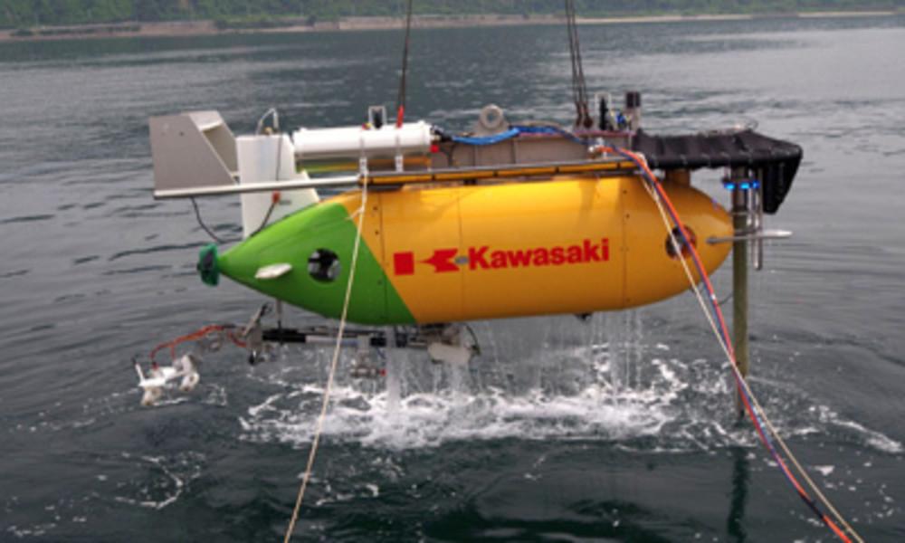 Japan: Kunststoffbatterie mit bemerkenswerten Eigenschaften an Mini-U-Boot getestet