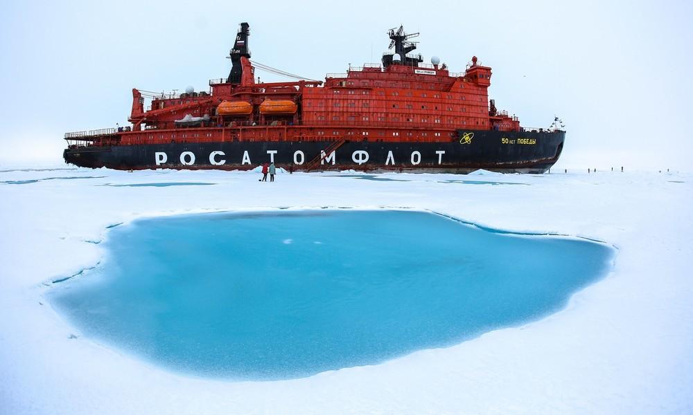 """Pompeo: """"Wir sind spät dran in der Arktis, werden aber dennoch Erfolg haben"""""""
