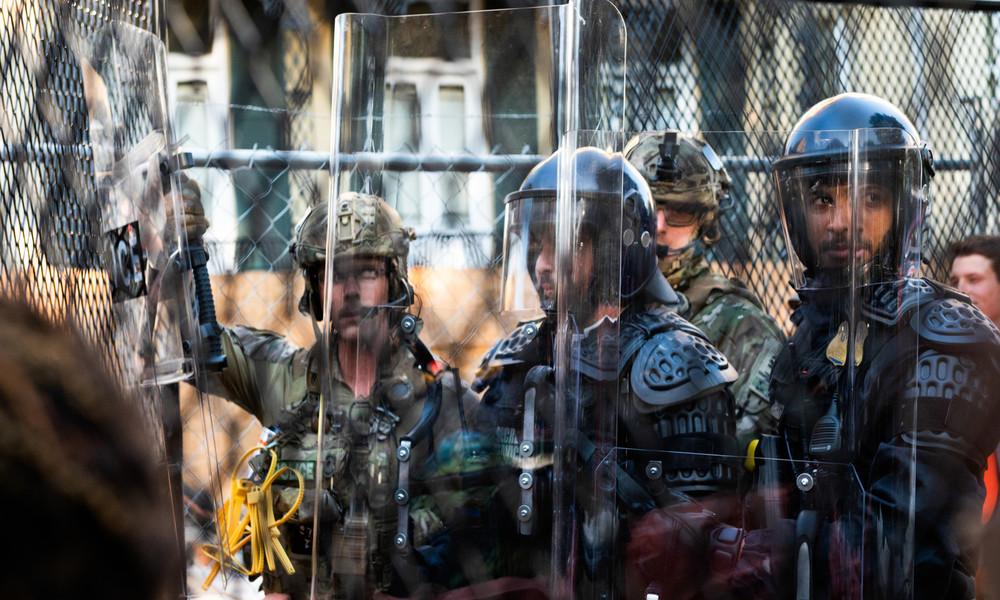 USA: Spezialeinheiten der Bundespolizei für Einmarsch nach Seattle in Bereitschaft
