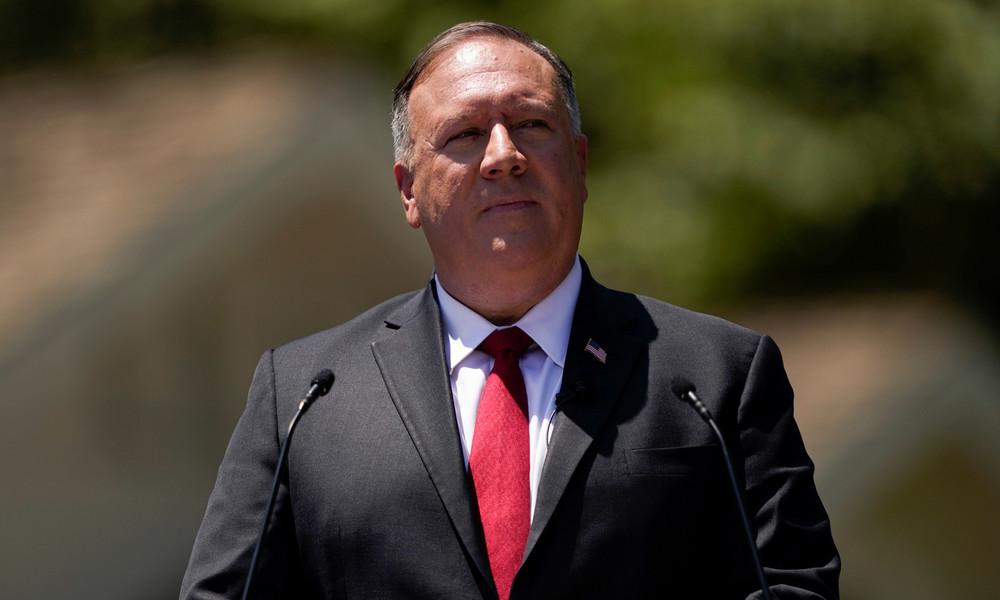 """US-Außenminister Pompeo fordert """"demokratische Allianz"""" gegen """"Frankenstein"""" China"""