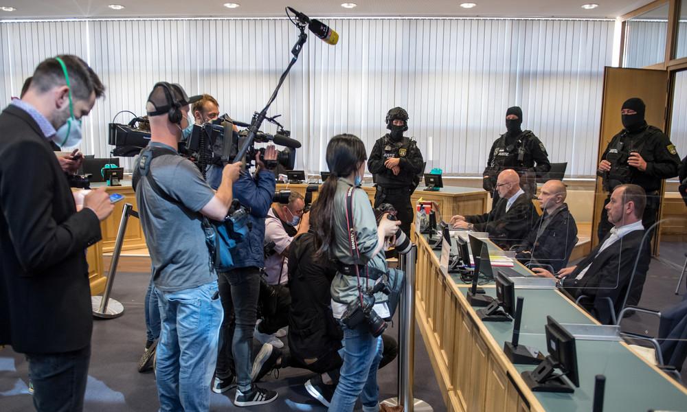 Terrorprozess gegen Halle-Attentäter: Spende und Verschwörungsmythen aus der rechten Szene