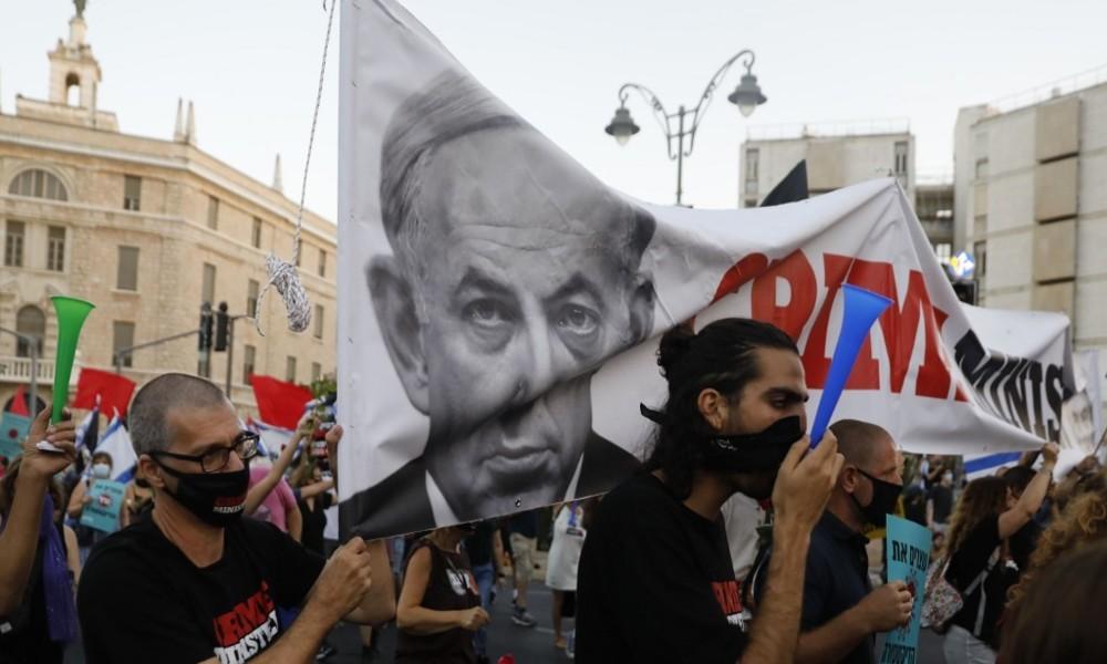 LIVE: Proteste in Israel gegen Premier Netanjahu