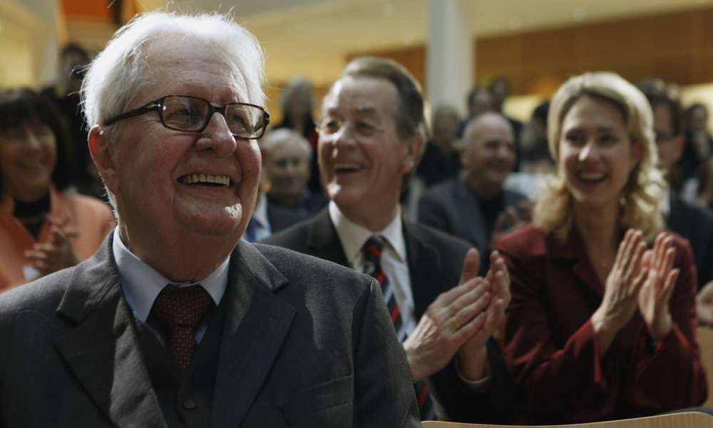 Im Alter von 94 Jahren: Früherer SPD-Vorsitzender Hans-Jochen Vogel gestorben