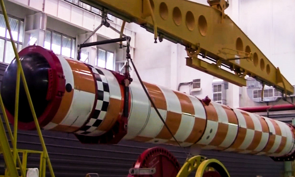"""Russlands Marine testet Atom-U-Boot als Träger für nukleare Unterwasserdrohne """"Poseidon"""""""