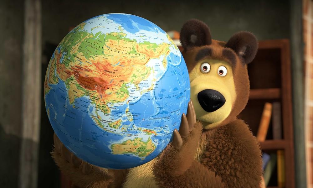 """Russische Zeichentrickserie """"Mascha und der Bär"""" weltweit unter den Top Five Lieblingscartoons"""