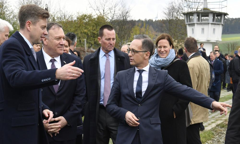 """US-Außenminister Pompeo: """"Ich habe an der Grenze zu Ostdeutschland gekämpft"""" (mit Video)"""
