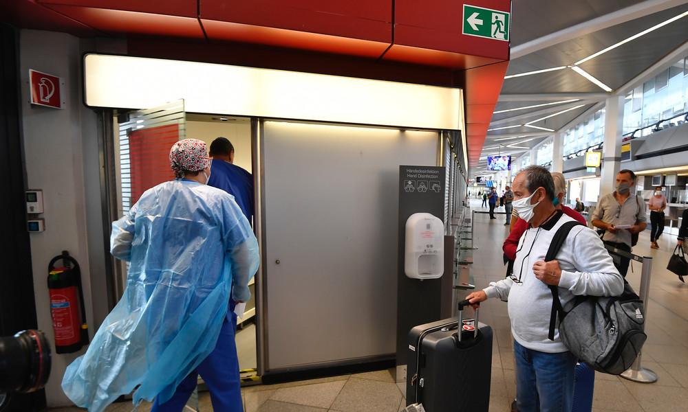 Flughafen Tegel beginnt mit COVID-19-Tests für Einreisende aus Hochrisikogebieten