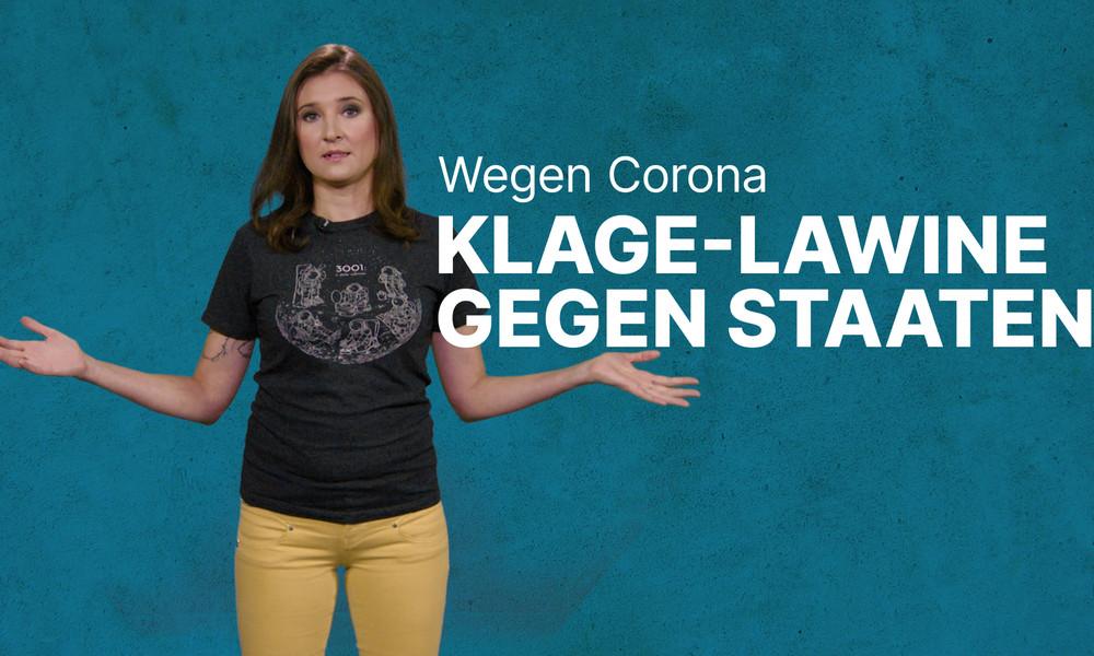 Corona-Krise: Experten warnen vor Klagelawine gegen Staaten (Video)