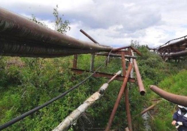 Neues Treibstoffleck in russischer Arktis: 45 Tonnen Kerosin aus Pipeline ausgelaufen